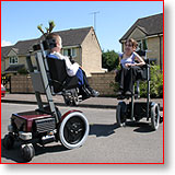 You can drive dragomobility powerchair at any height
